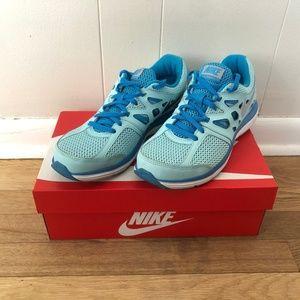 Nike Women's Dual Fusion Lite Blue Running Shoes